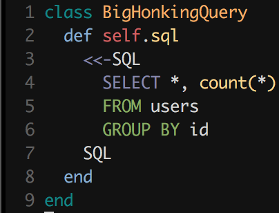 With syntax highlighting