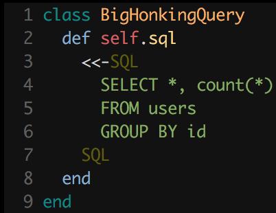Without syntax highlighting